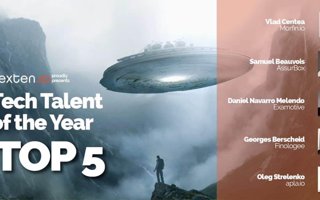Tech Talent of the Year award : Top 5 !